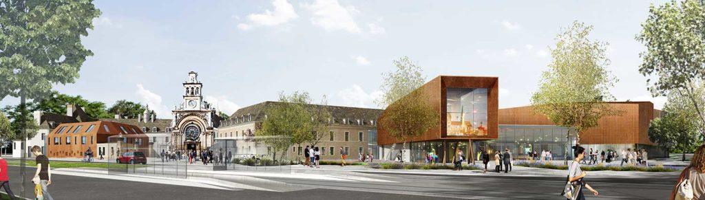 Construction de la Cité internationale de la Gastronomie et du Vin à Dijon 3