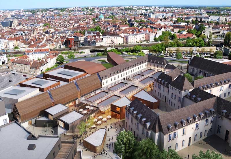Construction-de-la-Cité-internationale-de-la-Gastronomie-et-du-Vin-à-Dijon