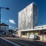 Changement de la façade des archives départementales de la Charente à Angoulême