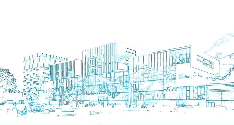 Construction-du-Campus-et-résidence-étudiante-Ynov-à-Nanterre