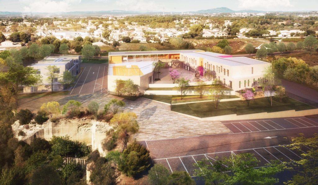 Groupe scolaire Roque Fraisse à St-Jean-de-Védas