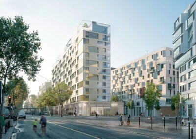 Réhabilitation de 101 logements sociaux à Paris