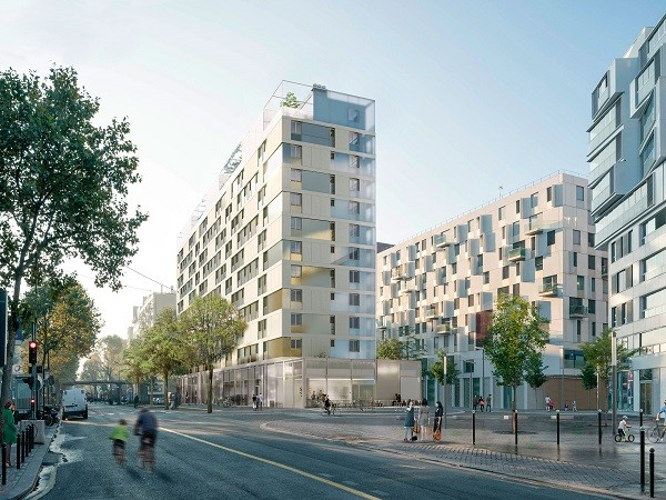 BETOM Ingenierie Logements Paris Ithaques WRA