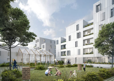 Construction de 54 logements à St Nazaire