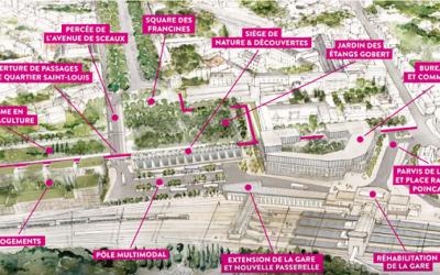 Nouveau pôle urbain de Versailles avec BETOM Ingénierie