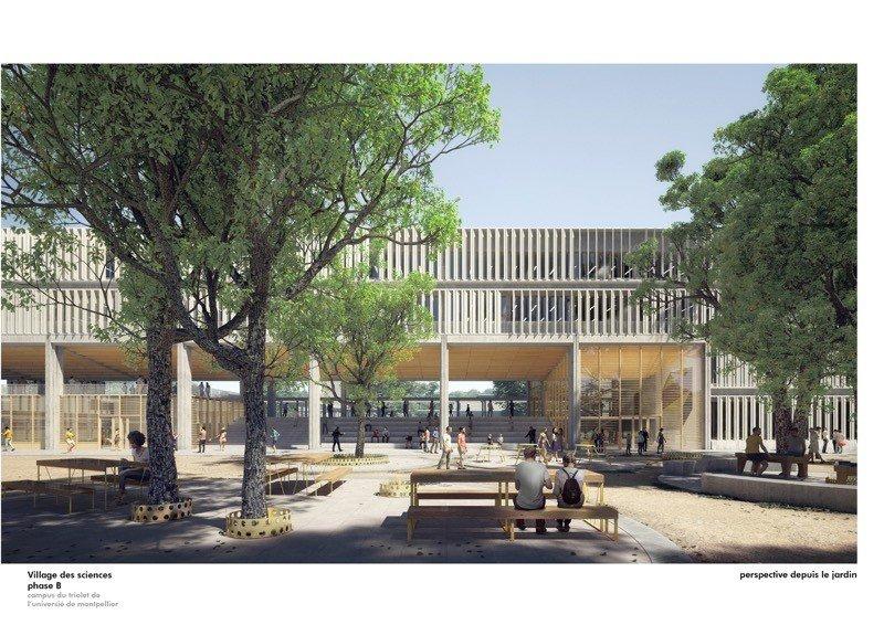 BETOM Ingénierie et Cap Terre remportent, avec Ignacio Prego Architectures, le concours pour la construction d'un nouveau bâtiment de 6700 m² ...