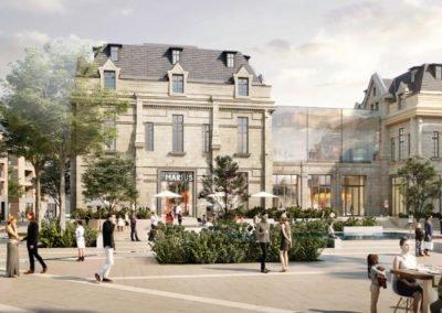 Reconversion du quartier de l'Hôpital à Saint-Germain-en-Laye