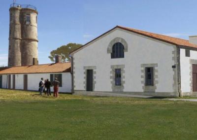 Réhabilitation du pôle culturel et touristique et la construction d'une bibliothèque multimédia e d'une Maison des Artistes sur l'île-d'Aix