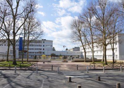 Réhabilitation de l'externat du lycée Edouard Branly à Chatellerault (86)