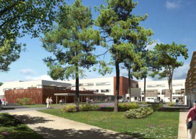 Reconstruction et restructuration de l'EHPAD de Podensac