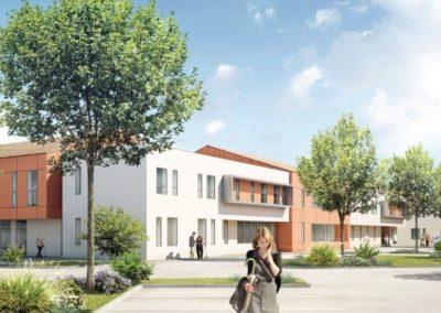 Extension de l'EHPAD du Centre Hospitalier d'Angoulême