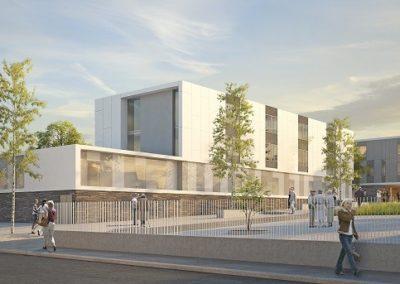 Reconstruction de l'Hôpital de la Corniche Angevine à Chalonnes-sur-Loire