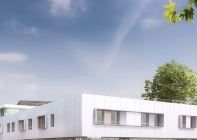 Construction d'un centre de soins de suite et rééducation le Chillon à Angers