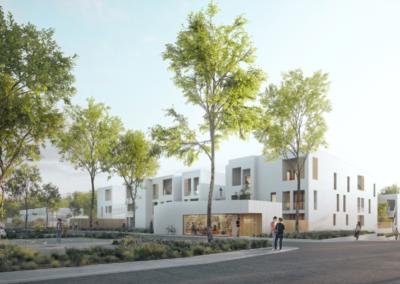 Construction d'une résidence intergénérationnelle à Lormont
