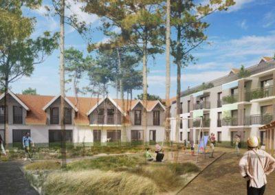 Construction de logements locatifs à forte qualité environnementale à Arcachon