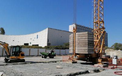 Démarrage de chantier pour les Archives de La Rochelle