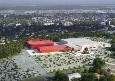 Réhabilitation/extension écologique du Parc des Expo de la Meilleraie de Cholet